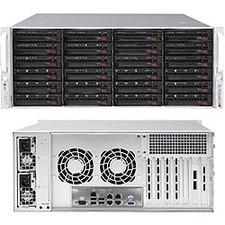 Supermicro SuperStorage 6049P-E1CR24H Barebone System - 4U Rack-mountable - Socket P LGA-3647 - 2 x Processor Support