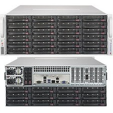 Supermicro SuperStorage 5049P-E1CTR36L Barebone System - 4U Rack-mountable - Socket P LGA-3647 - 1 x Processor Support