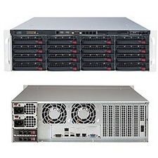 Supermicro SuperStorage 6039P-E1CR16L Barebone System - 3U Rack-mountable - Socket P LGA-3647 - 2 x Processor Support