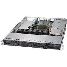 Supermicro SuperServer 5019S-W4TR Barebone System - 1U Rack-mountable - Socket H4 LGA-1151 - 1 x Processor Support