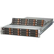 Supermicro SuperStorage 6029P-E1CR24H Barebone System - 2U Rack-mountable - Socket P LGA-3647 - 2 x Processor Support