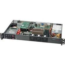 Supermicro SuperServer 1019C-HTN2 Barebone System - 1U Rack-mountable - Socket H4 LGA-1151 - 1 x Processor Support
