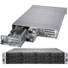 Supermicro SuperServer 6029TR-DTR Barebone System - 2U Rack-mountable - Socket P LGA-3647 - 2 x Processor Support