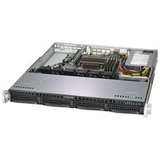 Supermicro SuperServer 5019C-M Barebone System - 1U Rack-mountable - Socket H4 LGA-1151 - 1 x Processor Support