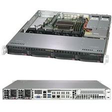Supermicro SuperServer 5019C-MR Barebone System - 1U Rack-mountable - Socket H4 LGA-1151 - 1 x Processor Support