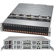 Supermicro SuperStorage 2028R-DN2R24L Barebone System - 2U Rack-mountable - Socket R3 LGA-2011 - 2 x Processor Support
