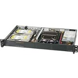 Supermicro SuperServer 5019C-L Barebone System - 1U Rack-mountable - Socket H4 LGA-1151 - 1 x Processor Support
