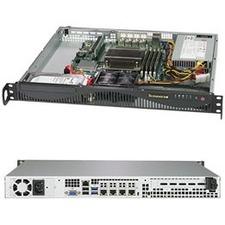 Supermicro SuperServer 5019C-M4L Barebone System - 1U Rack-mountable - Socket H4 LGA-1151 - 1 x Processor Support