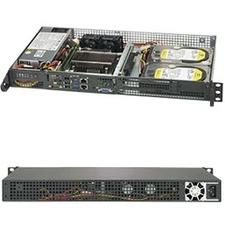 Supermicro SuperServer 5019C-FL Barebone System - 1U Rack-mountable - Socket H4 LGA-1151 - 1 x Processor Support
