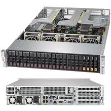 Supermicro SuperServer 2029UZ-TR4+ Barebone System - 2U Rack-mountable - Socket P LGA-3647 - 2 x Processor Support