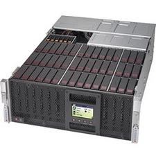 Supermicro SuperStorage 6049P-E1CR45L+ Barebone System - 4U Rack-mountable - Socket P LGA-3647 - 2 x Processor Support