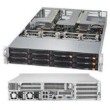 Supermicro SuperServer 6029UZ-TR4+ Barebone System - 2U Rack-mountable - Socket P LGA-3647 - 2 x Processor Support