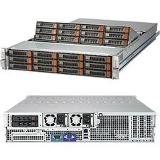 Supermicro SuperStorage 6029P-E1CR24L Barebone System - 2U Rack-mountable - Socket P LGA-3647 - 2 x Processor Support