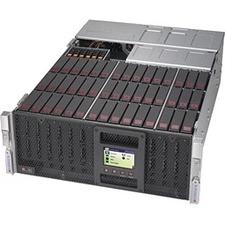 Supermicro SuperStorage 6048R-E1CR45H Barebone System - 4U Rack-mountable - Socket R3 LGA-2011 - 2 x Processor Support