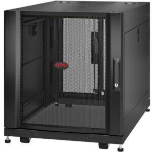 APC by Schneider Electric NetShelter SX 12U Server Rack Enclosure 600mm x 900mm w/ Sides Black