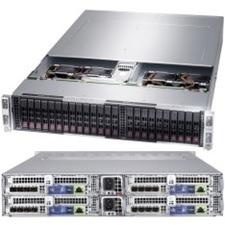 Supermicro A+ Server 2124BT-HTR Barebone System - 2U Rack-mountable - Socket SP3 - 2 x Processor Support