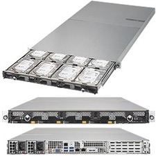 Supermicro SuperStorage 6019P-ACR12L+ Barebone System - 1U Rack-mountable - Socket P LGA-3647 - 2 x Processor Support