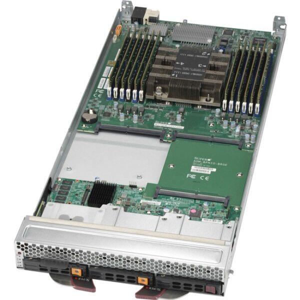 Supermicro SuperBlade SBI-6119P-C3N Barebone System Blade - Socket P LGA-3647 - 1 x Processor Support