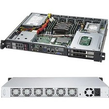 Supermicro SuperServer 1019P-FHN2T Barebone System - 1U Rack-mountable - Socket P LGA-3647 - 1 x Processor Support
