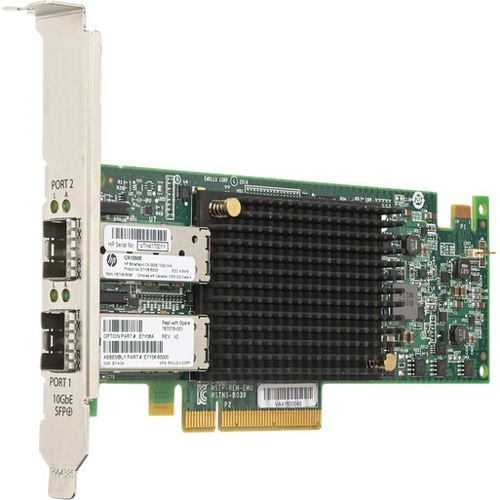HPE StoreFabric CN1200E 10GBASE-T Dual Port Converged Network Adapter