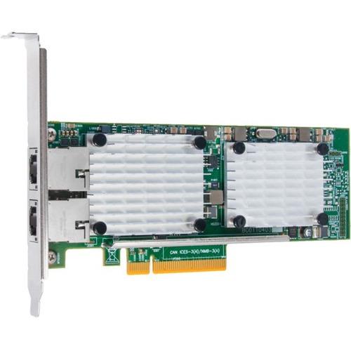 HPE StoreFabric CN1100R 10GBASE-T Dual Port Converged Network Adapter (N3U52A)