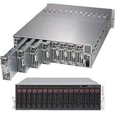 Supermicro SuperServer 5039MP-H8TNR Barebone System - 3U Rack-mountable - Socket P LGA-3647 - 1 x Processor Support