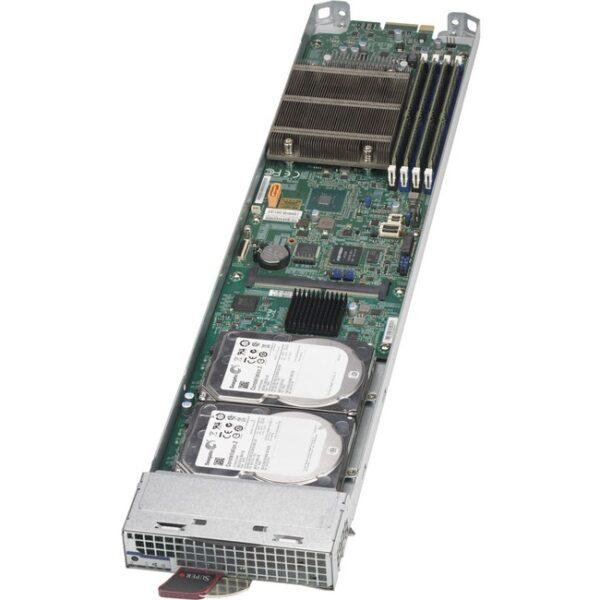 Supermicro MicroBlade MBI-6119M-C2 Barebone System Blade - Socket H4 LGA-1151 - 1 x Processor Support