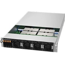Supermicro A+ Server 2124GQ-NART Barebone System - 2U Rack-mountable - Socket SP3 - 2 x Processor Support