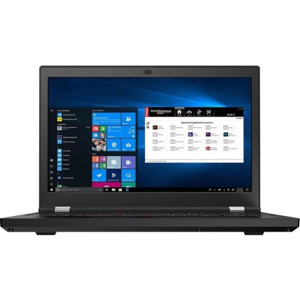 "Lenovo ThinkPad P15 Gen 1 20ST006JUS 15.6"" Mobile Workstation - Full HD - 1920 x 1080 - Intel Core i7 (10th Gen) i7-10850H Hexa-core (6 Core) 2.70 GHz - 32 GB RAM - 1 TB SSD - Glossy Black"