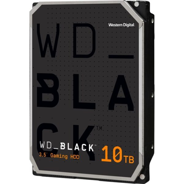 """WD Black WD101FZBX 10 TB Hard Drive - 3.5"""" Internal - SATA (SATA/600)"""