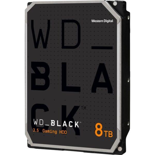 """WD Black WD8001FZBX 8 TB Hard Drive - 3.5"""" Internal - SATA (SATA/600)"""