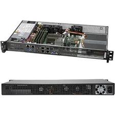Supermicro SuperServer 5019A-FN5T Barebone System - 1U Rack-mountable - Socket BGA-1310 - 1 x Processor SupportIntel Atom C3958 Hexadeca-core (16 Core)