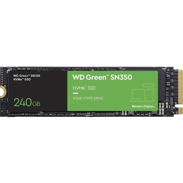 WD Green SN350 WDS240G2G0C 240 GB Solid State Drive - M.2 2280 Internal - PCI Express NVMe (PCI Express NVMe 3.0 x4)