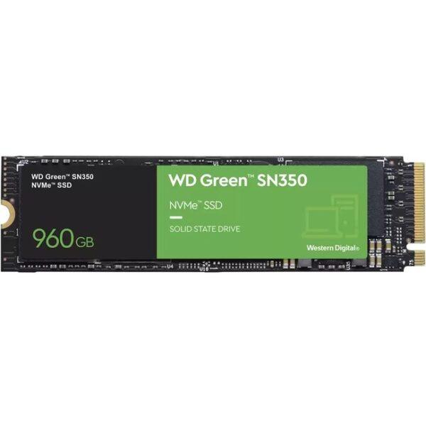 WD Green SN350 WDS960G2G0C 960 GB Solid State Drive - M.2 2280 Internal - PCI Express NVMe (PCI Express NVMe 3.0 x4)