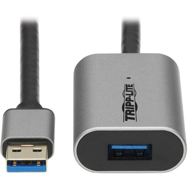 Tripp Lite U330-10M-AL USB 3.2 Gen 1 Active Extension Repeater Cable (M/F)