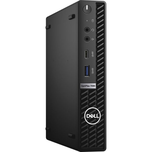 Dell OptiPlex 7000 7090 Desktop Computer - Intel Core i5 10th Gen i5-10500T Hexa-core (6 Core) 2.30 GHz - 16 GB RAM DDR4 SDRAM - 256 GB M.2 PCI Express NVMe 3.0 x4 SSD - Micro PC