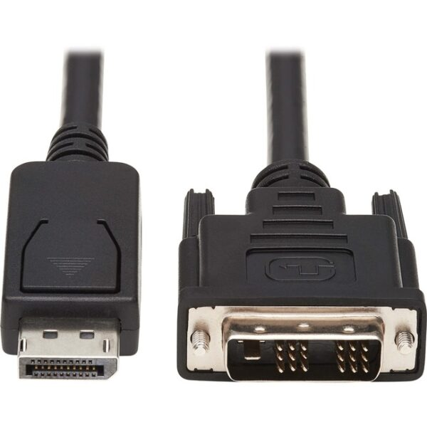 Tripp Lite Safe-IT DisplayPort to DVI Adapter Cable Antibacterial M/M 6ft