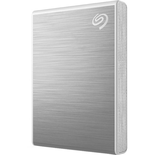 Seagate One Touch STKG500401 500 GB Solid State Drive - External - Silver